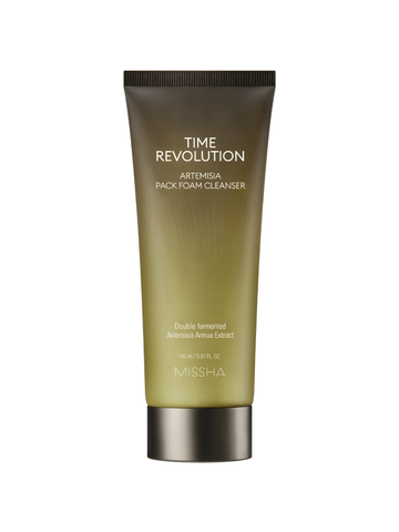 Time Revolution Artemisia Pack Foam Cleanser - Missha Middle East