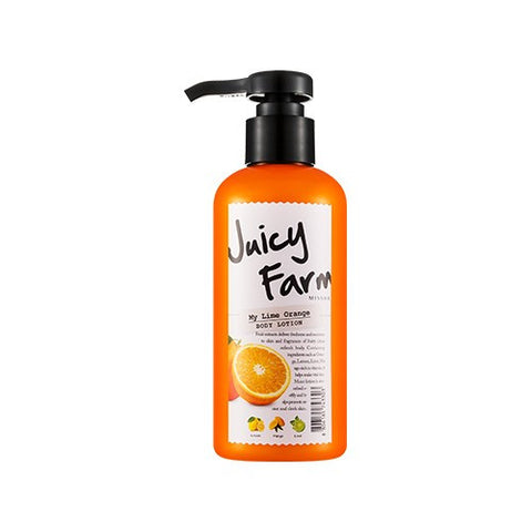 Juicy Farm Body Lotion (My Lime Orange) - Missha Middle East