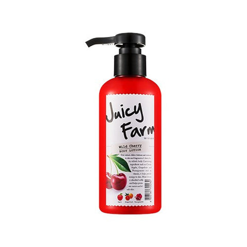 Juicy Farm Body Lotion (Wild Cherry) - Missha Middle East