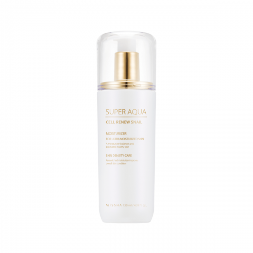 Super Aqua Cell Renew Snail Essential Moisturizer - Missha Middle East