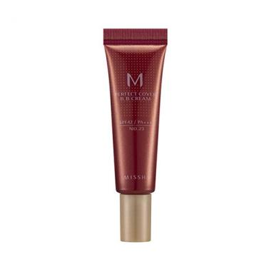 MISSHA M PERFECT COVER BB CREAM SPF42/PA+++ TRIAL SIZE 10ML - Missha Middle East