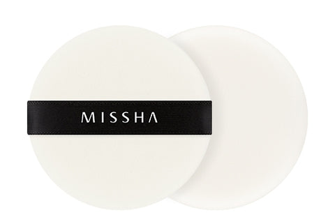 MISSHA Compressed Flocking Puff (Round/2P) - Missha Middle East