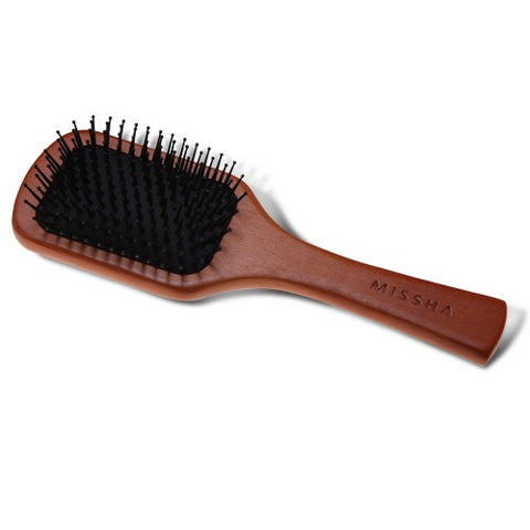 Wooden Cushion Hair Brush (Medium) - Missha Middle East