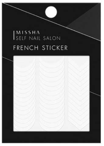 Missha Self Nail Salon French Sticker - Missha Middle East