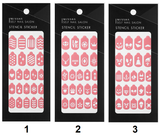 Missha Self Nail Salon Stencil Sticker - Missha Middle East