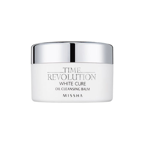 Time Revolution White Cure Oil Cleansing Balm - Missha Middle East