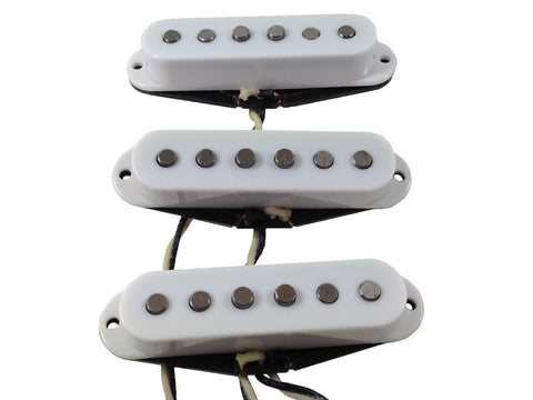 Stratocaster sized pickups