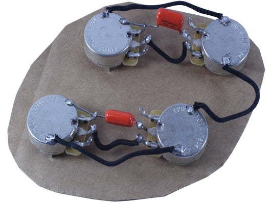 Les Paul style main cavity wiring harness (50s wiring) – Alegree Les Paul S Wiring Harness on gibson les paul wiring harness, les paul guitar wiring kit, les paul pickup wiring, les paul pot wiring,