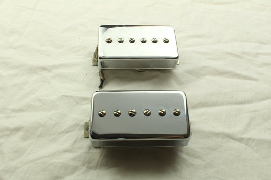 Desert Dew humbucker sized P90 chrome set (read description carefully)