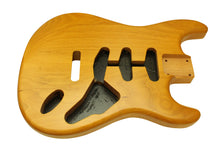 Load image into Gallery viewer, Two piece matt natural Strat body