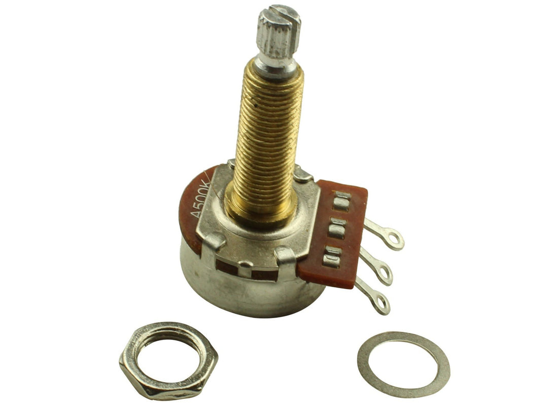 Alpha long shaft potentiometers