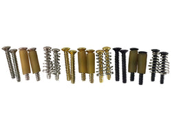 Stratocaster® single coil pickup mounting screws