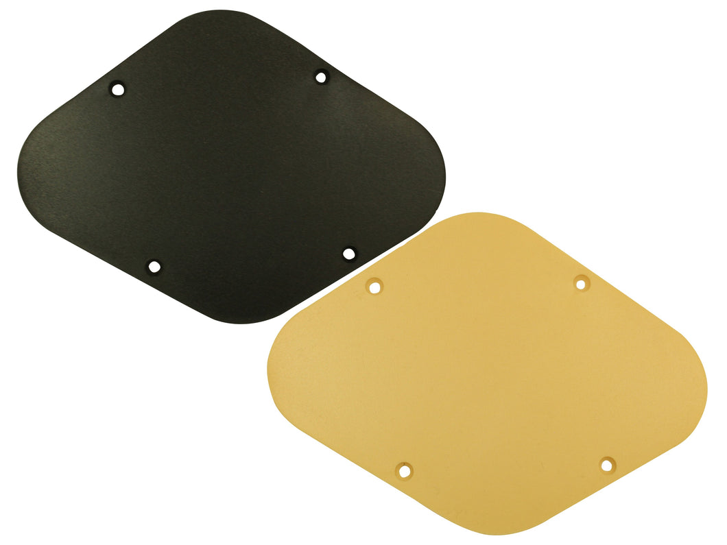Matte finish Les Paul style back plate covers (USA size)
