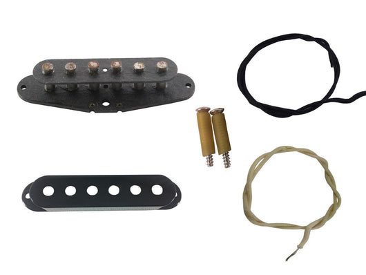 Stratocaster build kit (constructed frame) - aged version