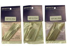 Load image into Gallery viewer, Hosco nickel silver fret wire sets of 24 x 70mm lengths