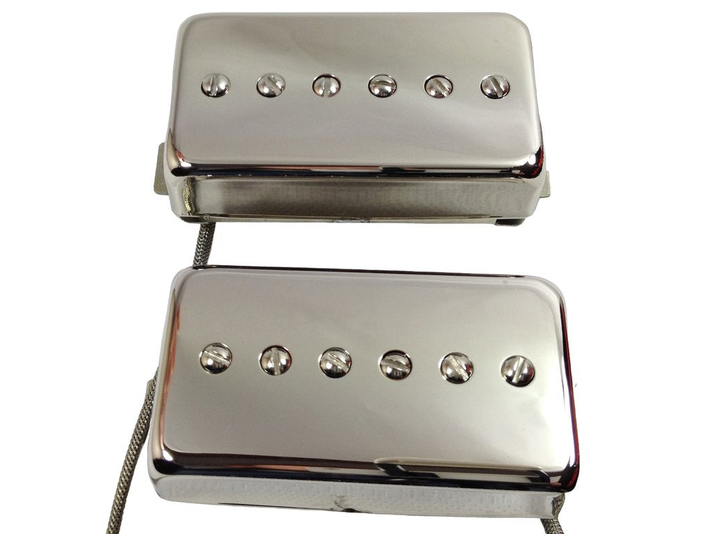 Murky Horizon humbucker sized P90s solderless connector setup
