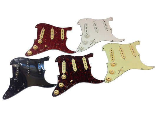 Loaded Stratocaster® pickguards