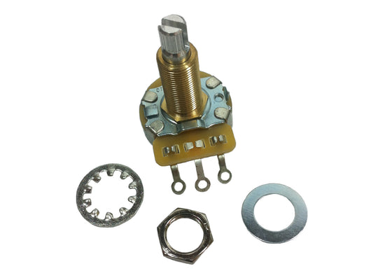 Long shaft CTS potentiometers