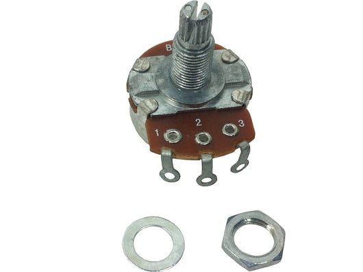Split shaft potentiometers