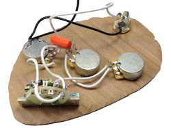 Create your own Stratocaster wiring harness