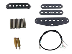 Stratocaster single coil stacked pickup build kit