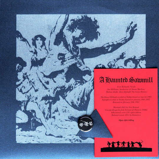 "DOM01-M: A Haunted Sawmill ""The Dance Of Death... (The Fear Of Your Live)"" 10"""