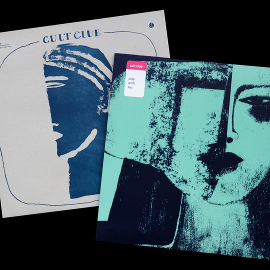 "SPECIAL SALE! Cult Club  ""Play With Lies"" LP + ""Never Enough"" EP 12''"