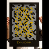Ex Machina screenprinted poster