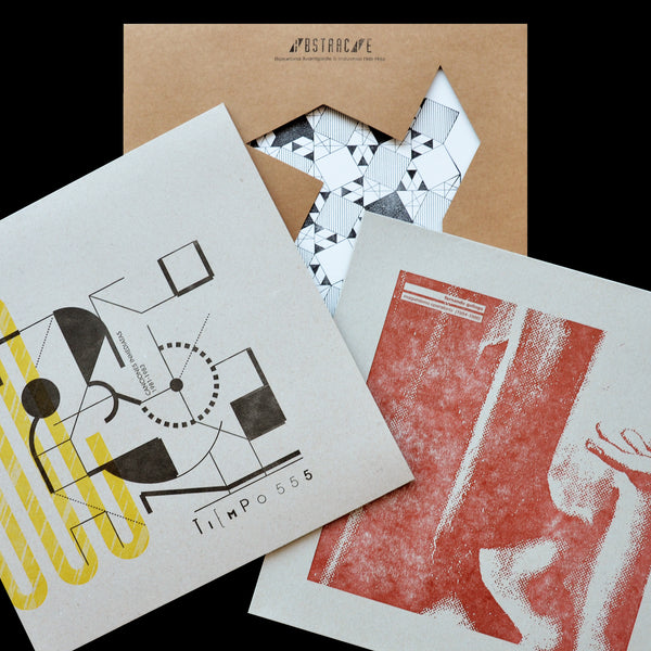 "SPECIAL SALE! Spanish Set: ""Tiempo 555"" LP + ""Fernando Gallego"" LP + ""Abstracte"" LP Compilation"