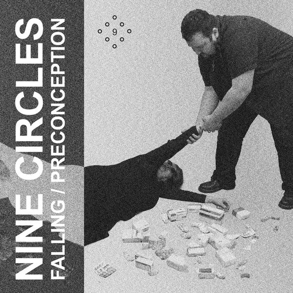 "Nine Circles ‎""Falling / Preconception"" Single 7'' [EV14]"