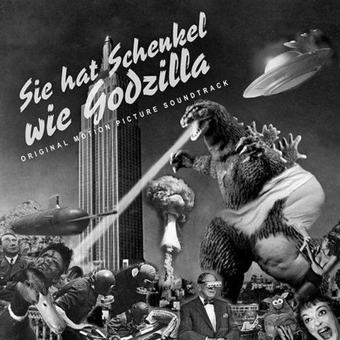 "V/A ""Sie Hat Schenkel Wie Godzilla: Original Motion Picture Soundtrack"" LP [hertz038]"