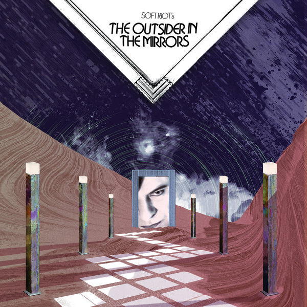"Soft Riot ""The Outsider In The Mirrors"" LP/CD/Cassette [PSSN02]"