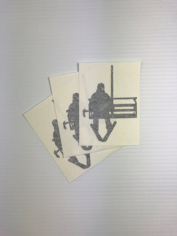 Chairlift Sticker 3-Pack