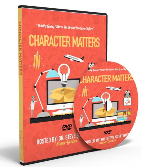 Character Matters DVD: Boldly Going Where No Brain Has Gone Before