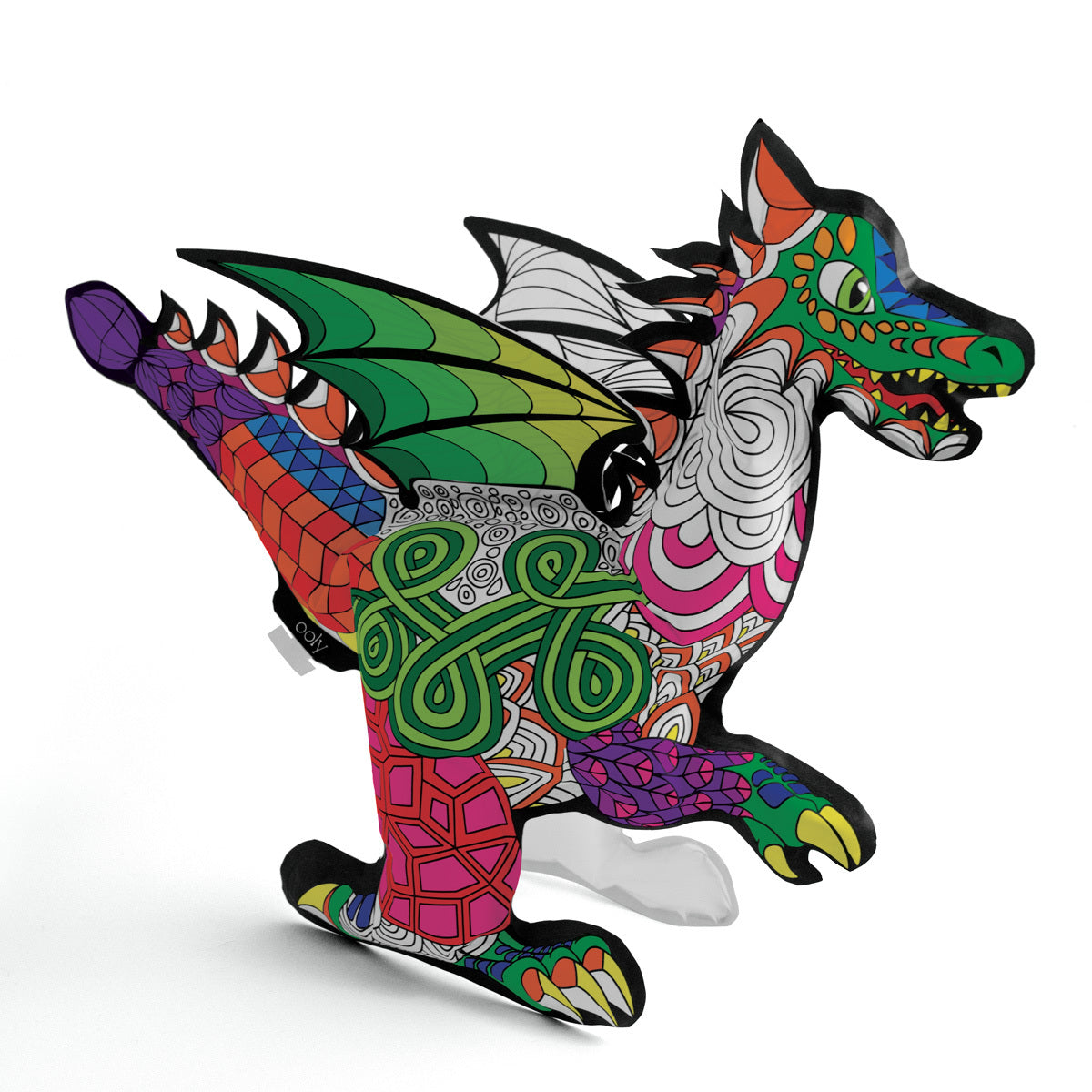 3D Colorables - Fantastic Dragon