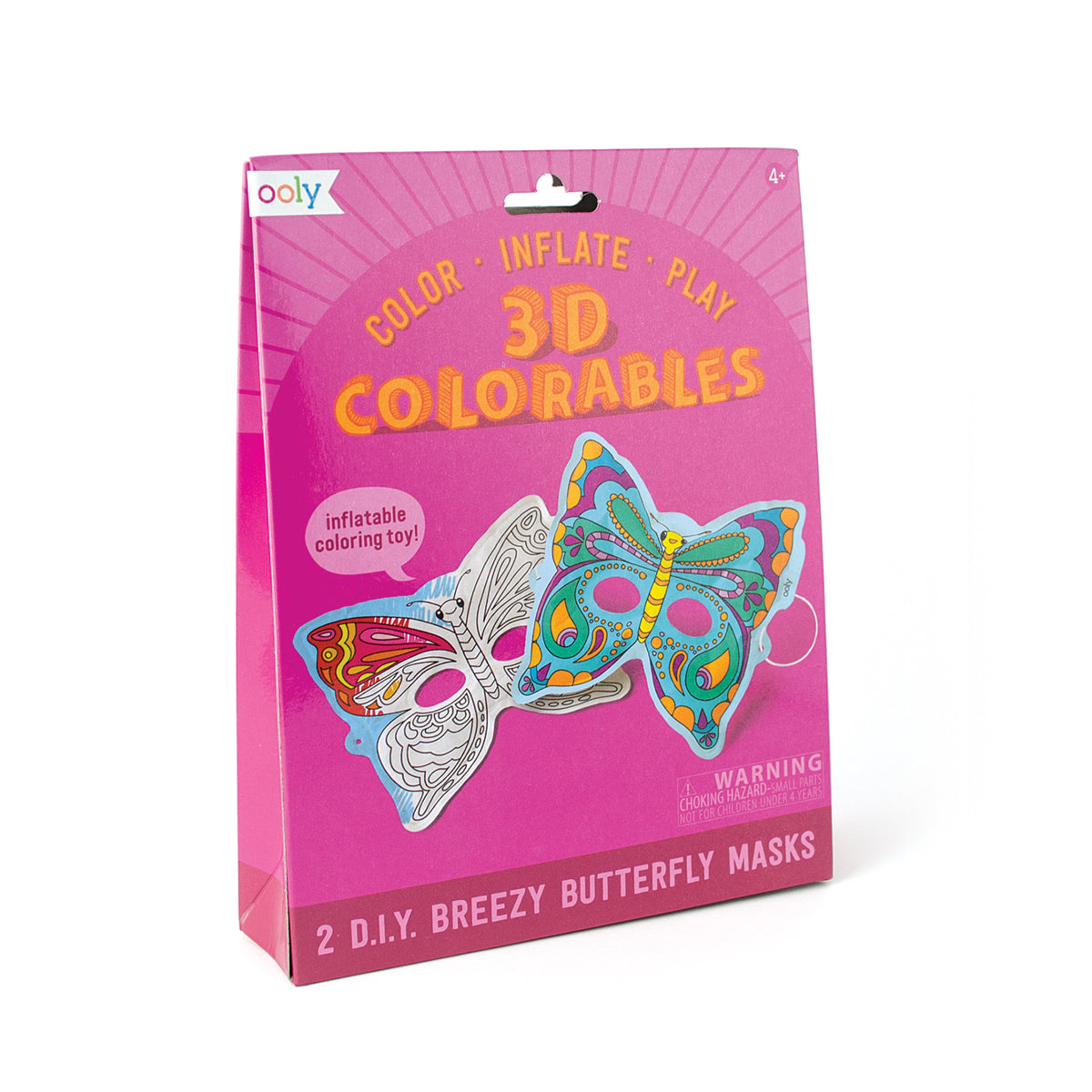 3D Colorables - Breezy Butterfly Masks