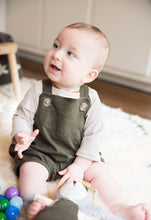 Forest Green Overalls