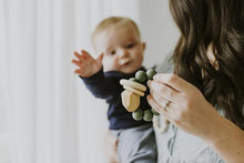 HAYES SILICONE + WOOD TEETHER TOY- KALE