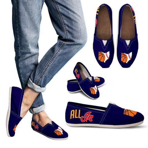 AI Navy Women's Casual Shoes