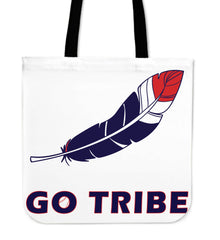 CLE Baseball Feather Totebag