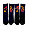 Image of AI Navy Crew Socks