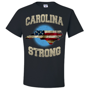 North Carolina Strong Black T-Shirt