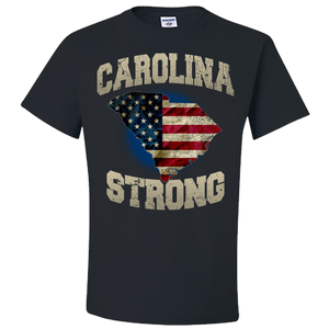 South Carolina Strong Black T-Shirt