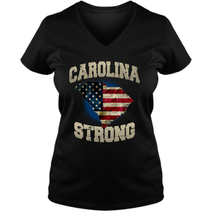South Carolina Strong Ladies V-Neck Tee