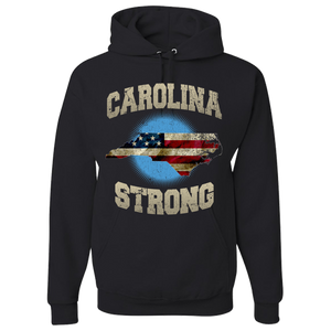 North Carolina Strong Black Hoodie