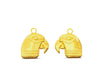 Anona Parrot - 18ct Yellow Gold Earrings