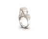 Anona Parrot - 18ct White Gold Ring