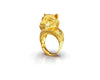 Bertuo Leopard - 18ct Yellow Gold Ring