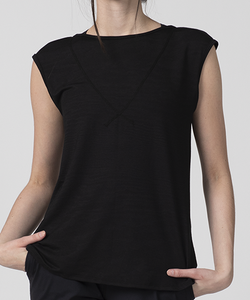 Lavender T-Shirt - Black