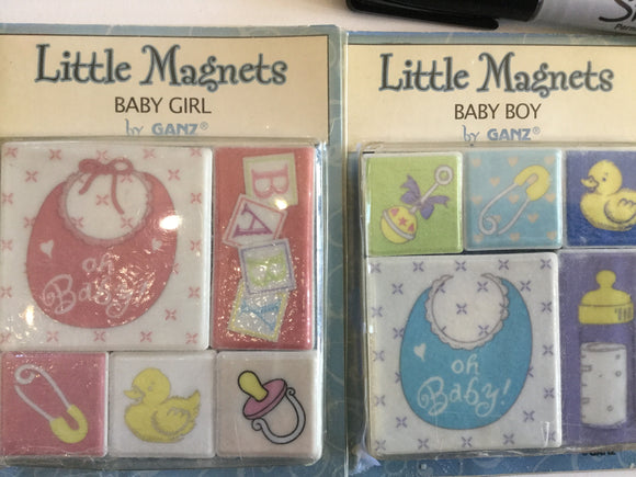 Little Magnets - Baby Magnets - Set of 5
